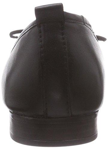 Tamaris - 22114, Ballerines Femmes Noir (noir 001)
