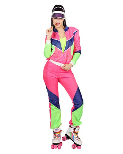 sanzug Damenkostüm im 80er Jahre Stil für Karneval 38 ()