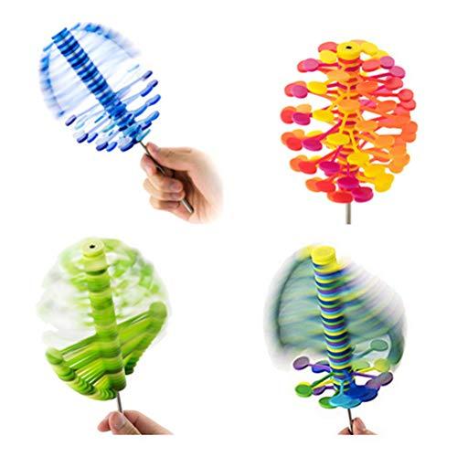 Daxoon Zucker Plum Shuffle Translucent,Magie Relief Bar Stress Relief Spielzeug Puzzle (1 Stücke, Zufällige Farbe) -