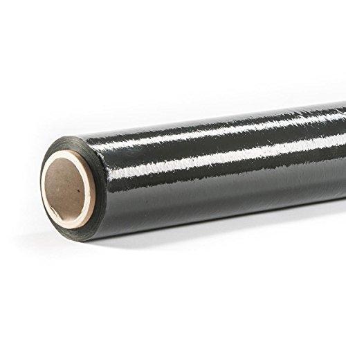 HaGa® Stretchfolie Umzugsfolie Verpackungsfolie Folie 150mx500mmx23µm schwarz