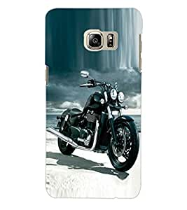 ColourCraft Bike Back Case Cover for SAMSUNG GALAXY S6 EDGE PLUS