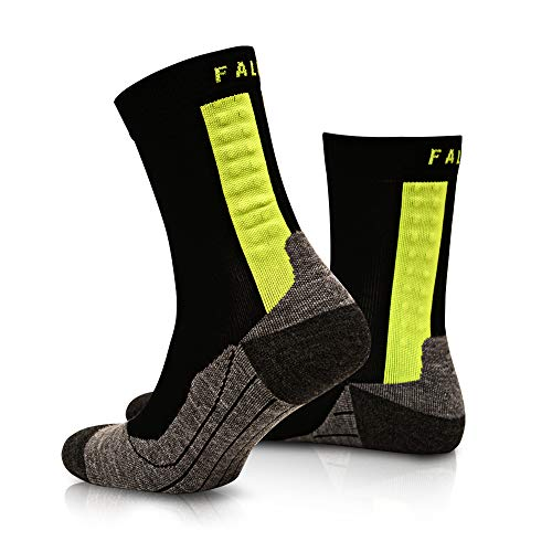 FALKE Herren Medizinische Socken Achilles, black, 46-48, 16762