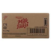 Britannia Milk Bikis Biscuits, 24 x 90 g