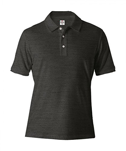 Reda Rewoolution Merino Flip Polo Shirt Men - Funktionspolo Charcoal