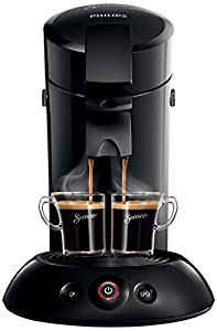 Senseo HD7817 - coffee makers (freestanding, Pod, Coffee, Black, Buttons, Touch, 50/60 Hz)