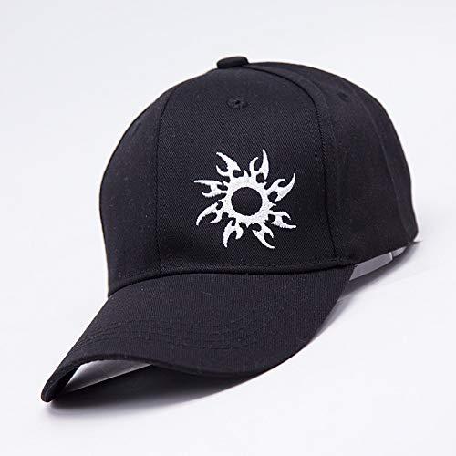 zlhcich Hut männliche Baseballmütze schwarz und weiß Stickerei grünen Drachen Sonnenhut weibliche Hip Hop Wild Hipster -