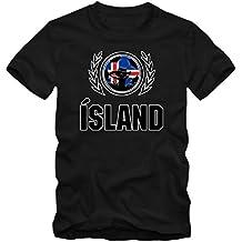 Island WM 2018#2 T-Shirt | Fußball | Herren Fanshirt |Trikot | Nationalmannschaft | S-5XL