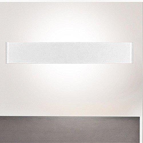 h schwarz und weiß LED minimalistisch Aluminium Living Room Schlafzimmer Lampen, weiß (Klassischen Halloween-bücher Für Kinder)