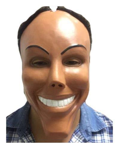 B-kreativ die Purge Smile Horror-Latex-Gesichtsmaske Mime Halloween Fancy kostüm Masken (Für Halloween Mime-kostüme)