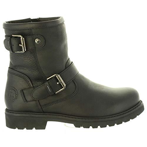 PANAMA JACK Damen Winterstiefel Felina,Frauen Winter-Boots,Fellboots,Fellstiefel,gefüttert,Warm,Wasserabweisend,Schwarz,EU 36