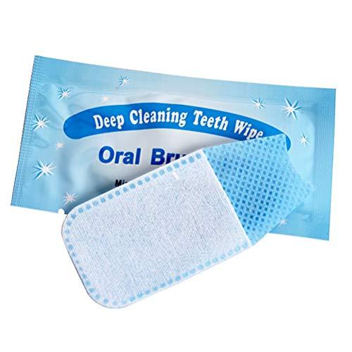 SUPVOX 20 stücke Texturierte Einweg Finger Zähne Wipes Dental Pinsel Finger Pinsel Pre und Post Pinsel - Finger, Pinsel