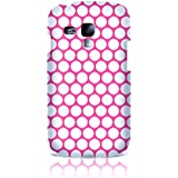 Sublinov Coque rigide pour Samsung Galaxy S3 Mini Motif Point Rose