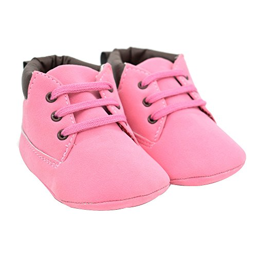 Tonsee Baby Kleinkind Weiche Sohle Leder Boy Girl Schuhe (1.5)