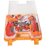 IGP Engineering Tool Kit Role Play Set for Kids 14 Pcs