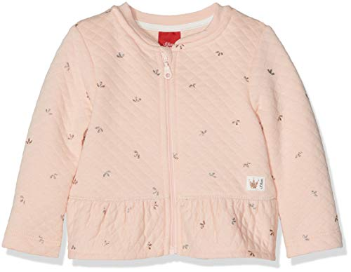 s.Oliver Junior Baby-Mädchen Sweatjacke 65.810.43.3040, (Pink AOP 40a3), 74