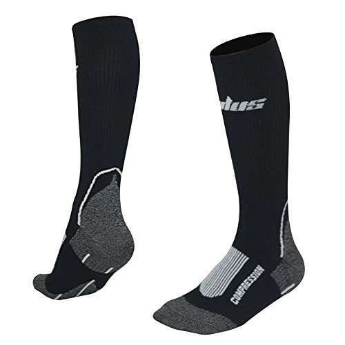 SMILUS-Compression-Socks-2-pairs-for-Women-Men-For-Running-CyclingAthletic-Sports-Crossfit-Flight-Travel-Below-Knee-High