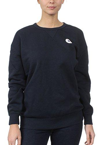 Converse Sweatshirt Damen CORE OVERSIZED CREW 10004550 Dunkelblau 424, Größe:M