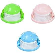 Naisicatar - Lote de 2 filtros de pelo para lavadora, flotantes, multiusos, reutilizables