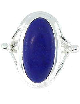 Ring mit Lapis Lazuli 50-02 - Schmuck Silbern aus Lapis Lazuli - Alle Größen und verschiedene Steine - ARTIPOL