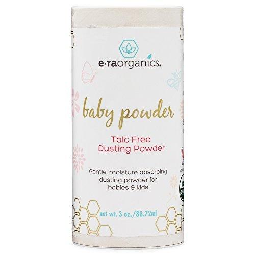 Talkumfreies Babypuder – bio-zertifiziertes Stäubemittel von Honeybuns. Gentechnikfrei, tierversuchsfrei, natürliche und biologisch angebaute Babyprodukte.