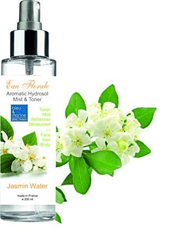 Hauttypen Weg (Blumenwasser Jasmin spray 200 ml Hydrolat 100% natural Für alle Hauttypen)