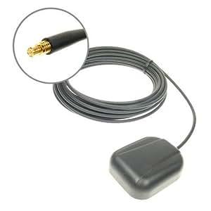 Just Mobile GRJMMCX Antenne Active GPS MCX Compatible avec de nombreux receveurs GPS, PND, etc Nécessite une connexion type MCX pour être connecté