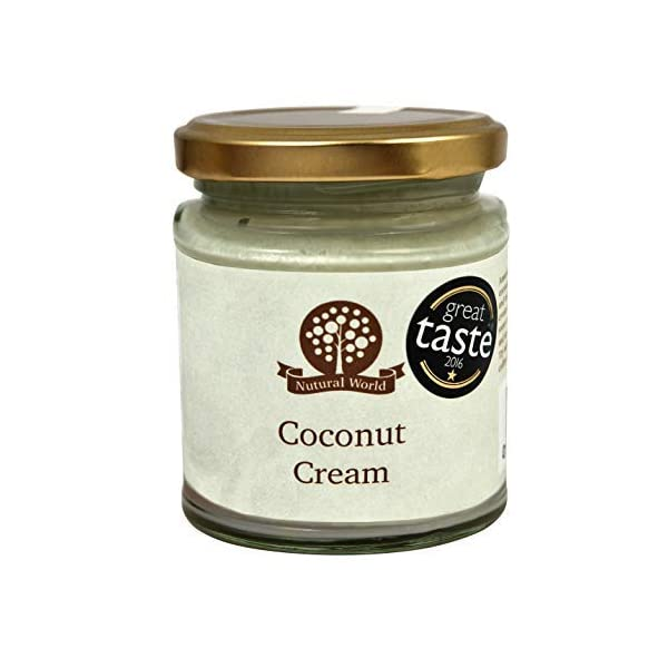 Nutural World - Coconut Cream (170g) Great Taste Award Winner 1