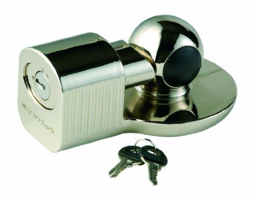 Master Lock 377EURDAT Antirrobo de Enganche Universal, Plateado