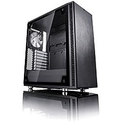 Fractal design Define C vetro temperato ATX/mATX/ITX PC computer case–nero
