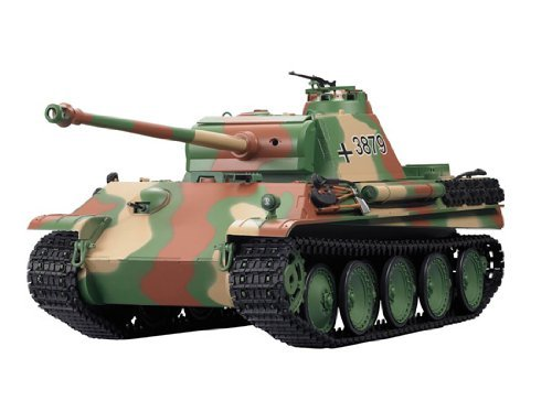 1/16 German Panther Type G Airsoft RC Battle Tank w/ Sound & Smoking by HengLong (Rc Airsoft Tank)