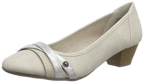 Jane Klain 223 703, Chaussures à talons - Avant du pieds couvert femme Gris - Grau (Lt. Grey 229)
