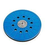 Schleifteller von Wabrasive | Ø 225 mm | Stützteller für Klett-Schleifpapier | Ideal für Matrix Deckenschleifer Wandschleifer Tellerschleifer und Trockenbauschleifer