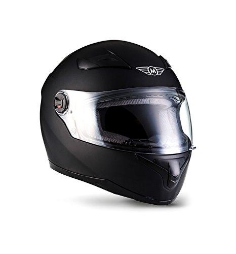 MOTO X86 Matt Black · Sport Scooter-Helm Helmet Integral-Helm Sturz-Helm Roller-Helm Cruiser...