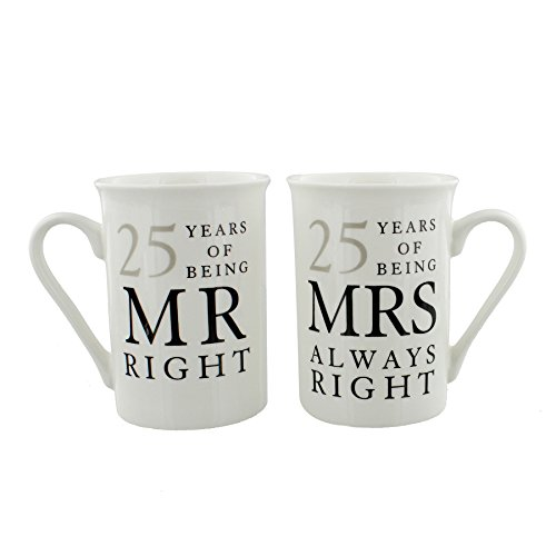 25th Silver Wedding Anniversary Gift