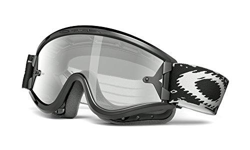 Oakley Herren L-01-631 0 Sportbrille, Schwarz (Jet Black/Grey), 99