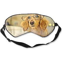 Hundenamen, Schlafmaske, wiederverwendbar, kalt, um den Schlaf zu verbessern, Entlastung von Ödemen, Augenermüdung, Kopfschmerzen und Verspannungen zu verbessern