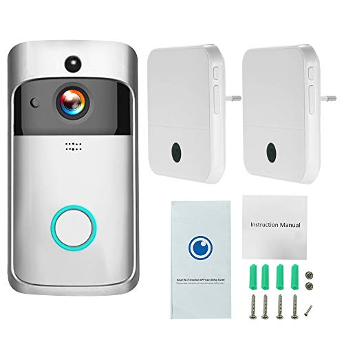 Video Türklingel Wifi Smart Wireless Security Doorbell Smart Hd 1080p Visual Intercom Recording Video Door Phone Remote Home Monitoring Wireless-digital-video-recording-system