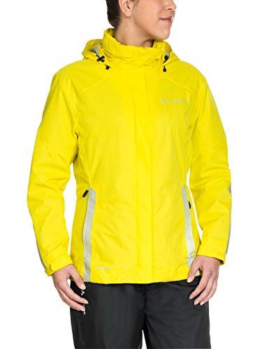 VAUDE Damen Luminum Jacke , Gelb (canary) , 42 (Herstellergröße  : L)