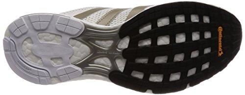 adidas Damen Adizero Adios W Fitnessschuhe Elfenbein (Ftwr White/cyber Met./core Black Ftwr White/cyber Met./core Black)