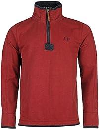Ocean Pacific Herren Quarter Pique Sweatshirt Sweater Pullover Langarm