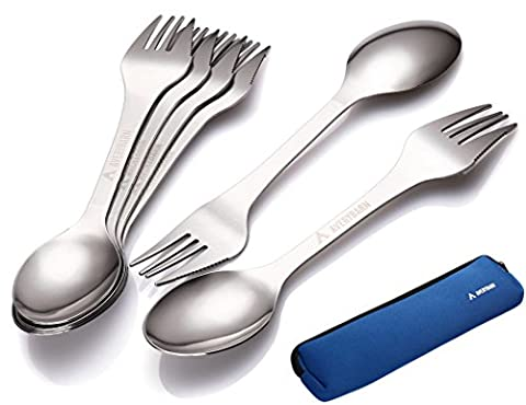 Avery Barn 6pc All-In-One Cutlery Stainless Steel Knife Fork Spoon
