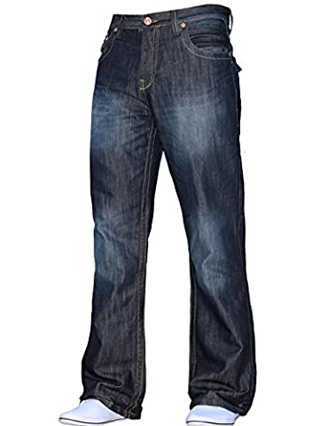 BNWT NEW MENS BOOTCUT LOOSE FIT FLARED BIG KING SIZE
