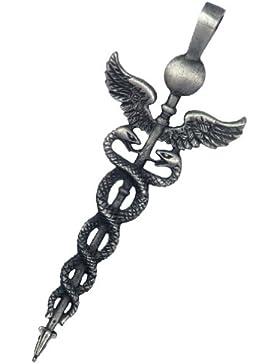 Caduceus Amulett Anhänger Talisman - Heilerische Fähigkeiten und Balance