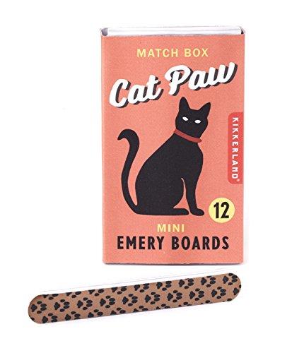 kikkerland-cat-paw-emery-board-match-box