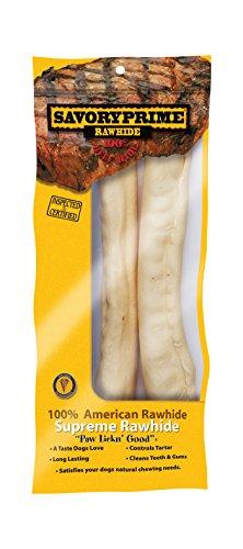 Artikelbild: Bohnenkraut Prime 22160 2 Count 10 in. Supreme Retriever Rawhide Rolls