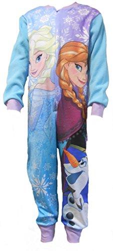 Disney Frozen Girls All in Onesie Sleepsuit 3-4 Years (Girls Disney)