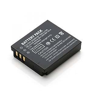 Rusty Bob - CGA-S005/DMW-BCC12 accumulatore batteria Panasonic Lumix DMC-FC01 DMC-FX01 DMC-FX3 DMC-FX07 DMC-FX8 DMC-FX9 DMC-FX10 - solo batteria