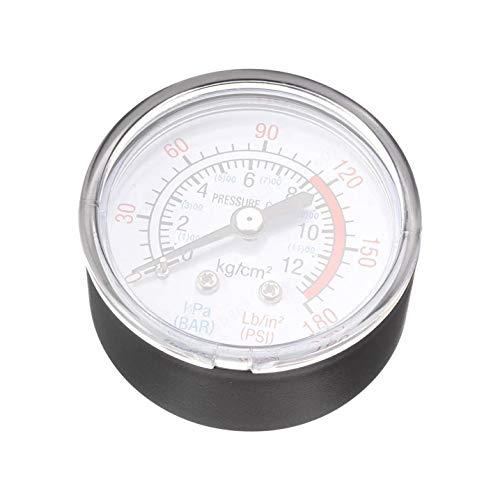 Agger 1/4 Bsp Compresor de Aire Partes Medidor de presión de precisión barómetro medidor Accesorios...