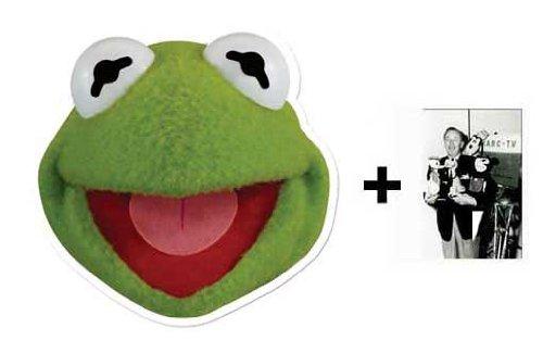 Kermit Maske - Kermit The Frog Karte Partei Gesichtsmasken