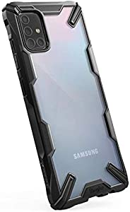 Ringke FUSG0039 Hard Back Cover For Galaxy A71 - Black
